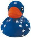 Custom Rubber Star Gazer Duck, 3 3/4