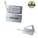 Custom Metal Luggage Tag, 4 1/4