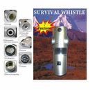 Custom Survival Whistle W/Compass (Screen)