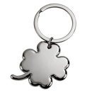 Custom Two-tone 4 Leaf Clover Key Chain, 3