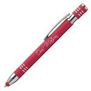 Custom Marin Softy w/ Stylus - Laser Engraved - Metal Pen, 5.43