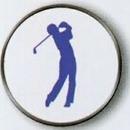 Custom Male Golfer Stock Ball Markers