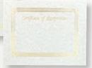 Foil Embossed Blank Certificate Border (Recognition), 8 1/2