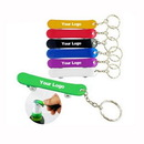 Custom Skateboard Shape Aluminum Bottle Opener Key Chain, 2 4/5