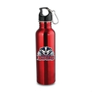 Custom The Wide Mouth Flair w/Carabiner - 25oz Red, 2.875