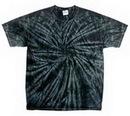 Custom Spider Black Tye Dye Shirts