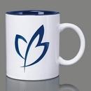 Custom Thames Mug - 11oz Cobalt/White