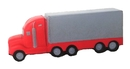 Custom Red and Gray Semi-Truck Stress Reliever, 5