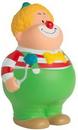 Custom Clown Bert Squeezies Stress Reliever, 4