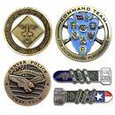 Custom Die Cast Zinc Challenge Coin (1-1/2
