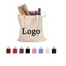 Custom 100 percent Cotton Reusable Tote Bags, 12