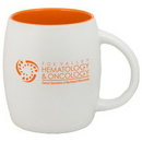 Custom 15 Oz. Puget Mug (Matte white out orange in)
