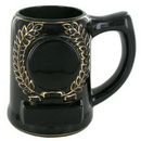 28 Oz. Black Beer Mug Holds 2
