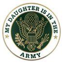 Custom Military - U.S. Army Daughter Pin, 1