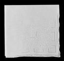 Blank 100 percent Fine Cotton Ladies Hankies w/Butterfly & Hemstitch
