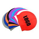 Custom Silicone Swim Cap, 9 1/16
