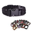 Custom Paracord Survival Bracelets w/ Whistle, 9