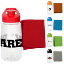 Custom Sport Cloth and Bottle Fitness Set, 2.75