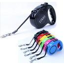 Custom 10 Ft. Retractable Pet Dog Leash, 5 1/8