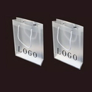 Custom Clear Polypropylene Tote Bag, 7 4/5