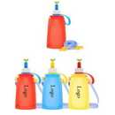 Custom Cute Silicone Foldable Water Bottle for Kids, 4