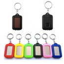Custom LED Flashlight Keychain With Solar, 2 3/10
