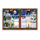 Custom Snowy Christmas Insta View Decoration, 38