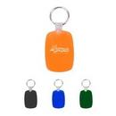 Custom Regular Shaped Soft Plastic Keychain, 3.15
