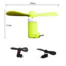 Custom Silicone TPE Mobile Phone Fan, 3 1/2