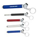 Custom Mini Tire Gauge Key Chain, 3 1/4