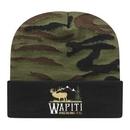 Custom Woodland Camo Knit Cap with Cuff