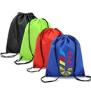 Custom Full Color Customized Drawstring Bag, 15.75
