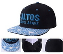 Custom Cotton 6-panel Medium Profile Baseball Hat, 7 3/10