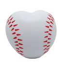 Custom Baseball Heart Squeezies Stress Reliever