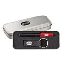 Custom Nano Pen/Stylus/Keyring Gift Set - Red