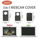 Custom 3 Pack Webcam Camera Sliding Cover