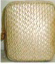 Custom Tweed PU Bag, 5 1/2