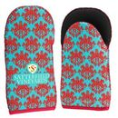 Custom Clamshell Oven Mitt (4 Color Process), 11.25