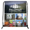 Custom 210 Polyester Full Color Sublimation Drawstring Cinch Pack Backpack (Overseas), 14