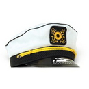 Yacht Captain's Cap w/ Custom Direct Pad Print