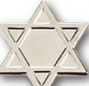 Custom Star of David Pin