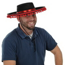 Custom Black Felt Spanish Hat