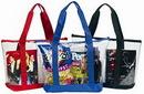 Custom Clear Zipper Tote Bag