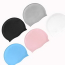 Custom Super Elastic Silicone Swimming Cap, 8 7/8