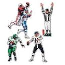Custom Football Figures Cutout, 20
