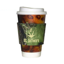 Custom Mossy Oak Camo Premium Collapsible Foam Coffee Wraps