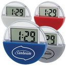 Custom Suction Cup LCD Clock & Calculator, 2