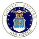 Custom Military - U.S. Air Force Pin, 1