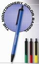 Custom The Montgomery Retractable Pen w/ Colored Barrel