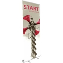 Custom Start Silver Retractable Banner Stand, 32.75